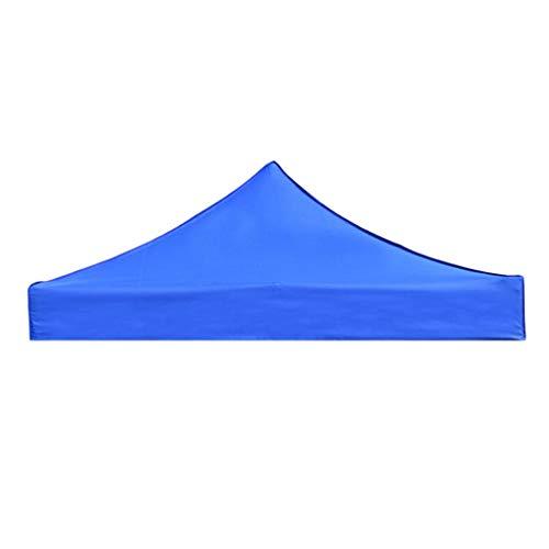 MagiDeal Toile de Toit de Rechange pour Pavillon Tonnelle Tente, Durable et Léger, Résistant à l'usure - Bleu 3x3M, Gros
