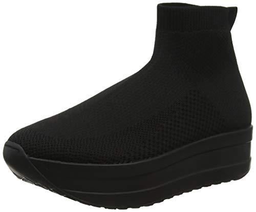 Vagabond Damen Casey Hohe Sneaker, Schwarz (Black/Black 92), 39 EU