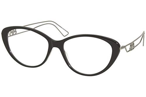 Balenciaga - Occhiale con montatura da vista BB0067O-002 53/16/140 colore Black Grey Unisex, Lente Trasparente