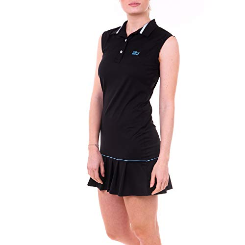 Sportkind Polo de tennis, hockey, golf avec protection...