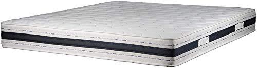 Sleepers Colchón LUXEMEMO en Espuma viscoelástica con 9 Zonas diferenciadas Ortopédico de 25 cm de Alto (135_x_200_cm)
