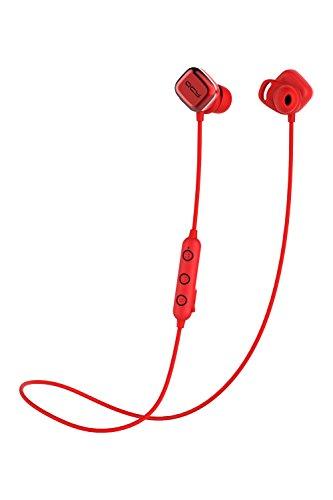QCY Bluetooth イヤホン M1Pro マグネット式電源ON/OFF レッド 国内正規品 QCY-M1ProRE