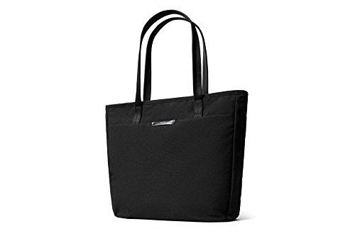 Bellroy Tokyo Tote (Unisex Laptop Tote Bag, Zipper Closure) - Black