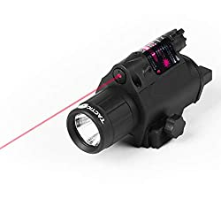 powerful Tacticon armor red laser light for rifles or pistols with picatinny rails and rear …