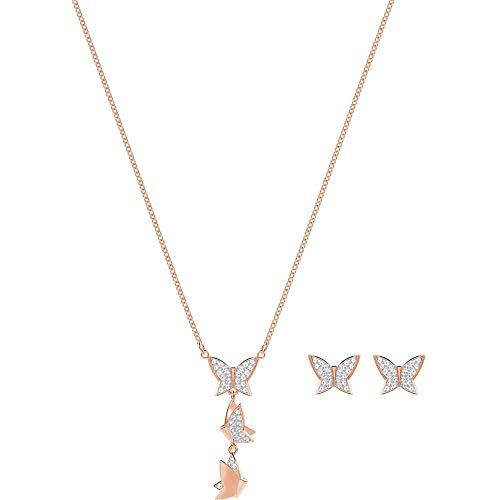 SWAROVSKI Donna acciaio_inossidabile Parure di gioielli 5382365