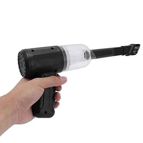 Snufeve6 Aspiradora de Coche, aspiradora de Coche eléctrica de Alta Potencia de 120 W, Carga USB, Ligera, Recargable para Coche y Oficina, para Dormitorio, Sala de Estar