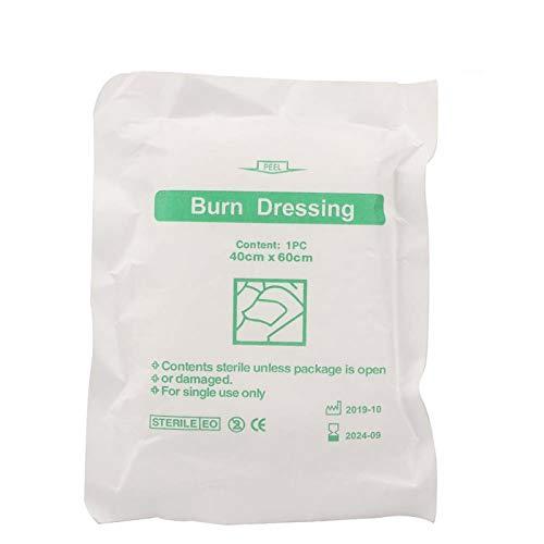 20pcs-Burn Dressing Vendaje de curación de heridas para el cuidado de las quemaduras - Se usa para el cuidado de heridas, fácil de usar Toallas y rodillas enrolladas para envolver las manos.Agregar a