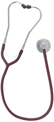 erka Stetoscopio, erkaphon Alu con tubo (diversi colori), bourgogne, 1