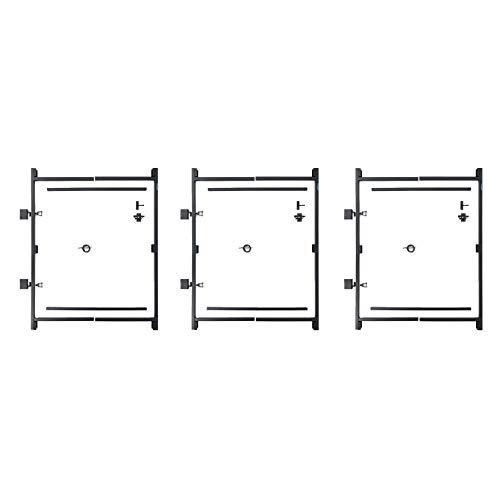 Adjust-A-Gate Steel Frame Gate Building Kit, 36