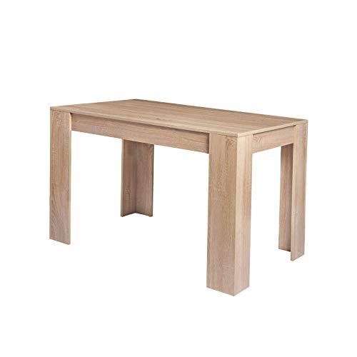 eSituro SCD0016 Esszimmertisch Esstisch Küchentisch Schreibtisch Arbeitstisch Holztisch Holz Hell Eiche
