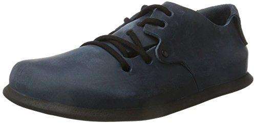 BIRKENSTOCK Shoes Unisex-Erwachsene Montana Derby, Blau (Insignia Blue), 39 EU