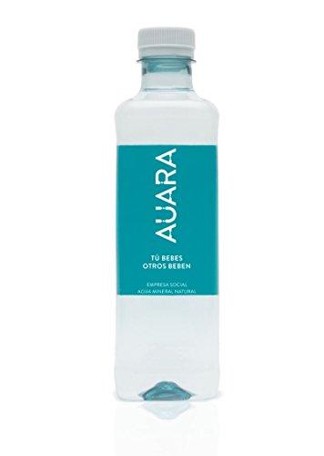 AUARA Agua Mineral Natural sin Gas - Paquete de 24 x 500 ml - Total: 12000 ml