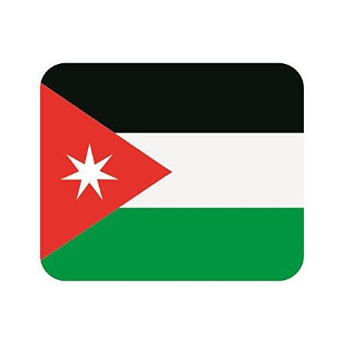 U24 muismat textiel Jordanië vlag mousepad