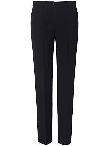 BASLER - Pantaloni in tessuto da donna Nero 46
