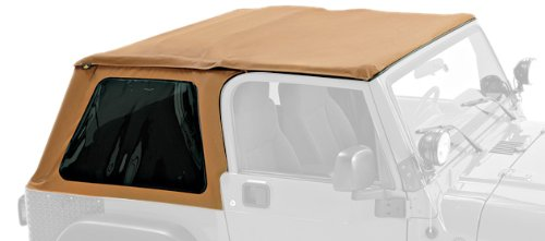Pavement Ends by Bestop 56840-37 Spice Frameless Sprint Top for Jeep Wrangler for 1997-2006...