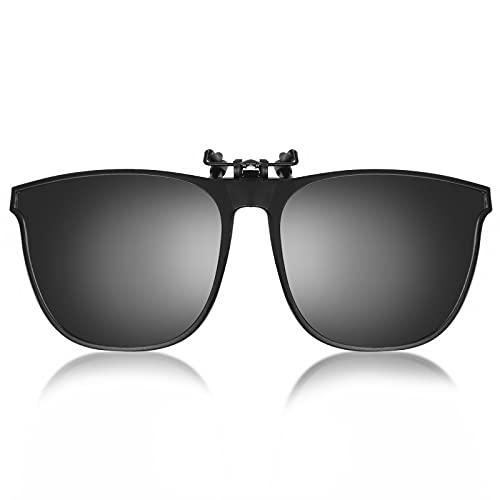 Clip on Gafas de Sol Polarizadas Flip up Gafas de Sol para Mujer Hombre Gafas Flip Up Gafas De Sol