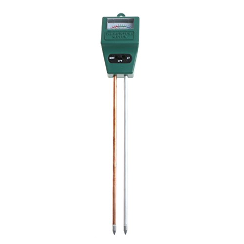 Great Deal! keaiduoa 2-in-1 PH Tester Soil Water Moisture Light Analized Test Meter Garden Detector