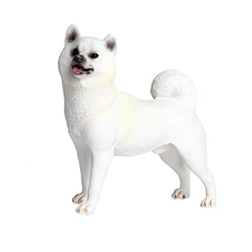 Vosarea Figura de perro Shiba Inu para jardín de perro, estatua de perro