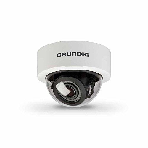 'GCI K0622D GRUNDIG, Grundig Innenraum IP Kamera Dome Camera, 1/2,8CMOS, 2MP, 13BPS, 3–10,5mm, ICR, DWDR, 12V DC/24V AC, PoE