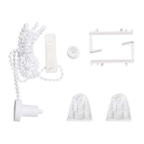Eurohome Klemmträger Montageset für Klemmfix-Rollos und Doppelrollo Zubehör Set, Montage ohne Bohren weiß, 1 Set