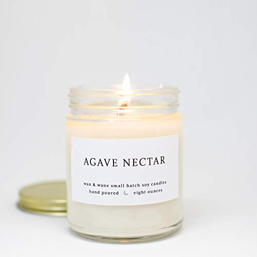 Nectar Agave Scented 8 oz Modern Soy Candle