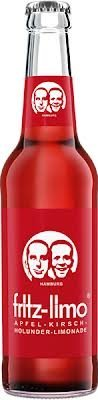 12x fritz-limo Apfel-Kirsch-Holunder-Limo 330 ml inc. 0.96€ MEHRWEG Pfand