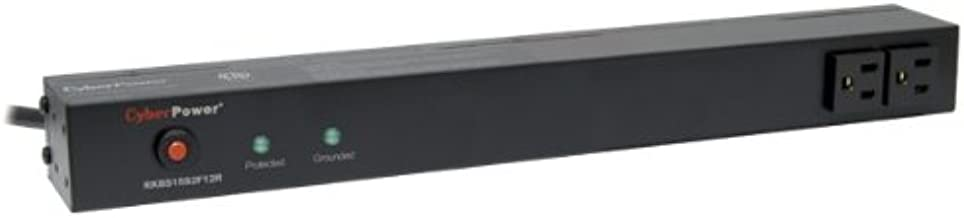 CyberPower RKBS15S2F12R 15A 14-Outlet 1U RM Rackbar Surge Suppressor