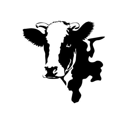Cabeza De Vaca Animal Etiqueta De La Pared Etiqueta Engomada Del Interruptor De...
