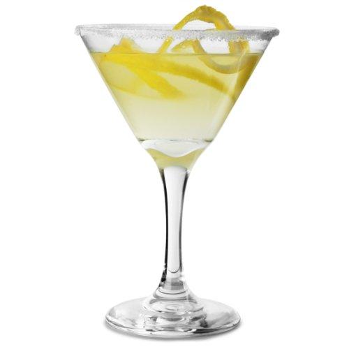 Embassy Martini-Cocktailgläser 9,5 / 270ml Unzen, 4 Stück, 27cl Gläser, Taliban-Botschaft, Martinigläser, Cocktailgläser Libbey