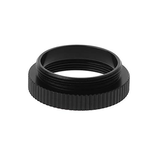 JIACUO 5 MM Metall C zu CS Mount Objektiv Adapter Konverter Ring Verlängerungsrohr für CCTV Überwachungskamera Zubehör