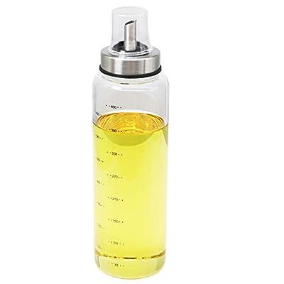 Olive Oil Dispenser Bottle 17 Oz Glass Oil Bott...
