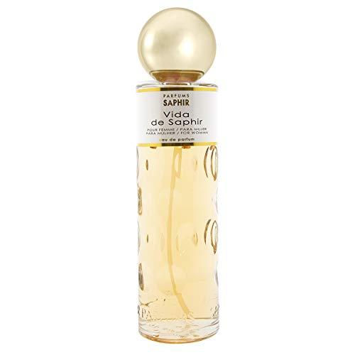 Parfums Saphir Vida - Eau de Parfum Vaporisateur Femme - 400 ml