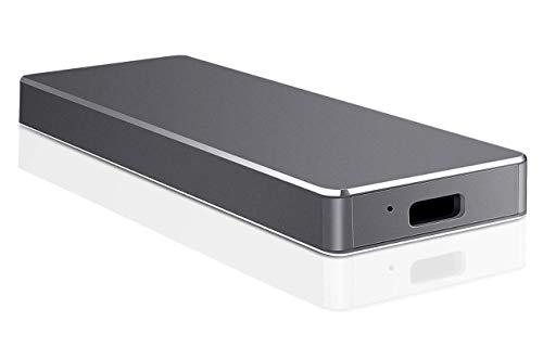 External Festplatte, USB 3.1 Typ C Festplatte Strong Storage HDD 1TB 2TB 3.5TB für PC, Laptop, Mac (2TB-C Schwarz)