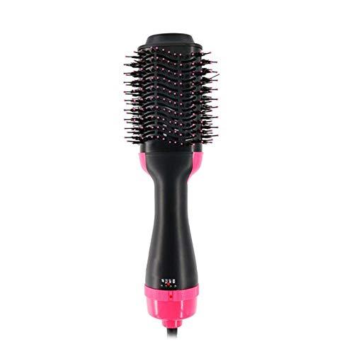 Haardroger haarborstel volumizer stijltang krultang haarborstel elektrisch krultang warme lucht UK Rose Red