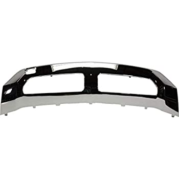 For Mercedes-Benz ML350 Bumper Trim 2012 13 14 2015   Front   Lower   Molding   Chrome   w/o AMG Styling Package   MB1095107   1668858025