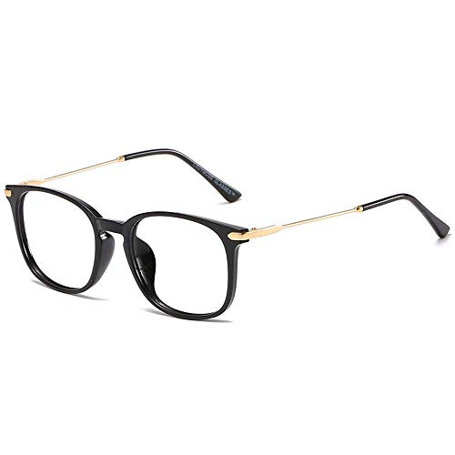 Blue Light Glasses Round Clear, Anti-blue Light Glasses Flat Mirror Unisex Ultralight Simple Computer Anti-glasses Fatigue Clear Sight