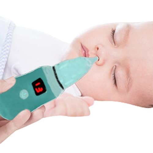 Aspirator Nasal Aspirator Snot Sucker Suction Device Baby Toddler Newborn Adult for Infants Vacuum Electric Anti-backflow USB Charging,
