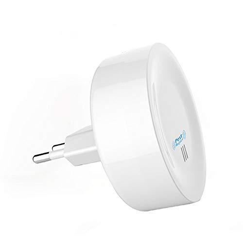SWN Repelente ultrasonico, 1Pack Multifuncional Repelente Mosquitos Electricos, con Frecuencia Sónica, Control de Ratones/Moscas/Mosquitos/Hormigas/Bichos/Cucarachas.(1 Pack)
