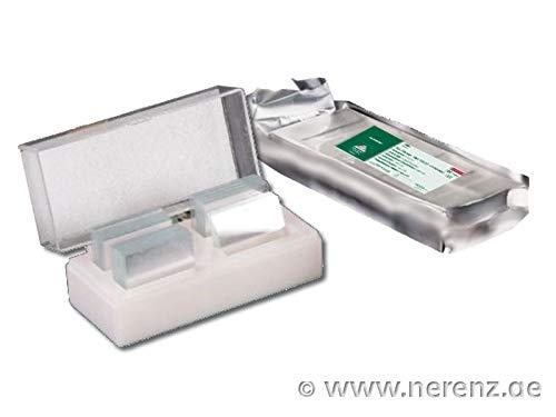 Deckgläser 20x20mm, AR, Stärke 1 (0.13-0.16mm), ungeschliffen, 200 St./Box, 2.000 St./Karton