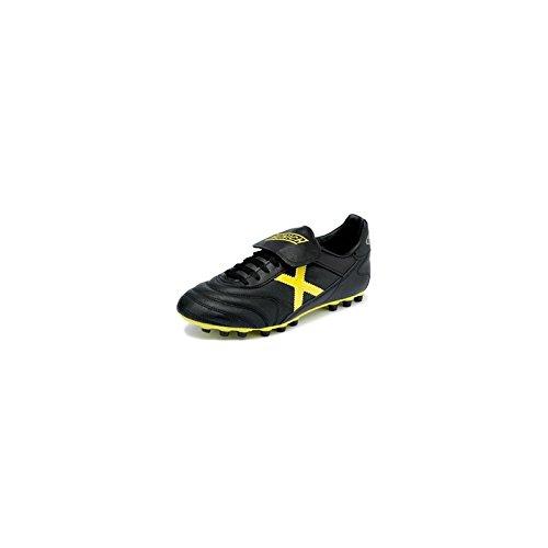 Munich Mundial - Zapatillas para Hombre, Color Negro/Amarillo, Talla 43