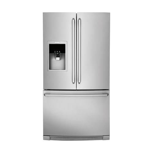 EW23BC87SS 36 Star-K Certified Counter-Depth French Door Refrigerator with External Dispenser Wave-Touch Controls 21.54 cu. ft. Capacity Perfect Temp Drawer and PureAdvantage Filtration Systems in Stainless Steel