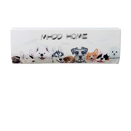 LaoZan Elastisches Gewebe Klimaanlage Abdeckung Farbdruck Klimaanlage Staubschutz Schutzhülle (Stil 9,86 * 23 * 30cm(1.5P))