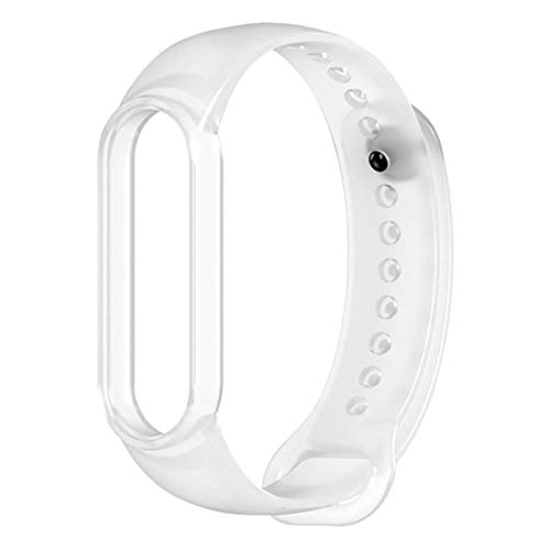 For Xiaomi Band 5 Transparent Silicone Strap Personalized Jelly Silicone Wristband For Mi Band 5 Smart Bracelet Accessories