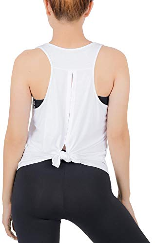 Lofbaz Workout Tanktops für Damen Yoga Kleidung Sexy Womens Tie Back Shirts Hemden...