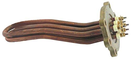 Nuova Simonelli Heizkörper für Kaffeemaschine Premier, Premier5 2700W 230V Länge 182mm Breite 32mm 3 Heizkreise Höhe 52mm