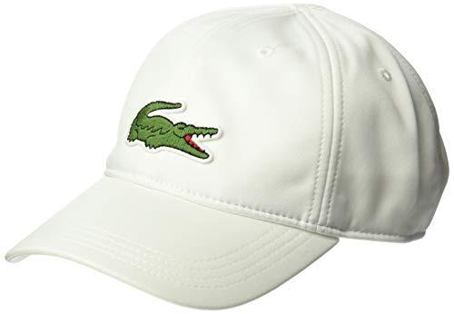 Lacoste Men's Sport Miami Open Edition Cap, White, M/L