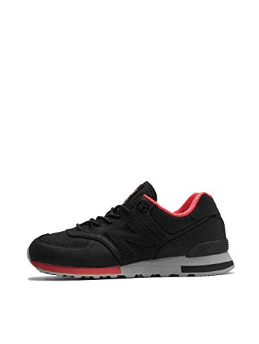 New Balance ML574-ENC-D Sneaker Herren schwarz, 42.5 EU - 8.5 UK - 9 US