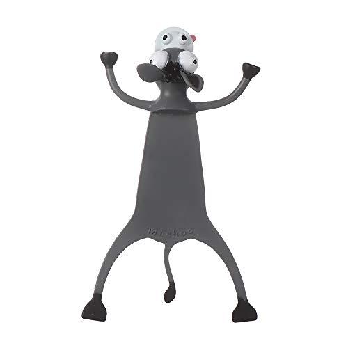 Niedliche Lesezeichen, verrückte 3D-gequetschte Lesezeichen, PVC-Lesezeichen im Cartoon-Animals-Stil, für Kinder Mädchen Jungen(donkey)