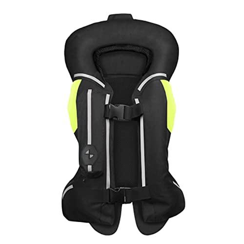 CCCYT Gilet DE Moto Gilet de sécurité réfléchissant sans Manches pour Moto