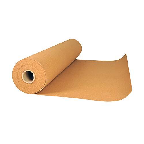 acerto 16088 Korkrolle zur Trittschalldämmung - 15m x 4mm * Wärmeisolierend * Hochelastisch * Schadstofffreier Rollkork | Rollenkork als Dämmunterlage, Parkett-Unterlage, Laminat-Unterlage